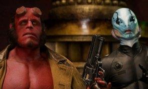 Hellboy II: O Exército Dourado, 2008.