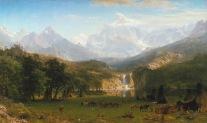 The Rocky Mountains, Lander's Peak, 1863.