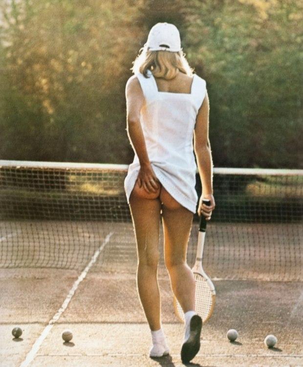 Tennis Girl, 1976.