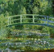 Water Lilies and the Japanese bridge, 1897–1899.