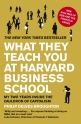 What They Teach You at Harvard Business School, 2008. Nota: 71/100