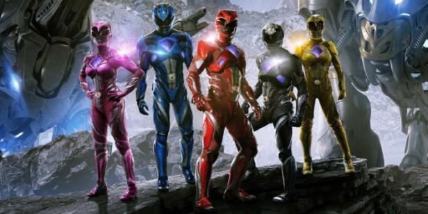 Power Rangers, 2017. Nota: 62/100